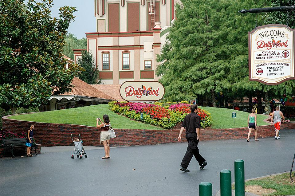 Photo taken at Dollywood by Jim D. on 12/15/2012 ...