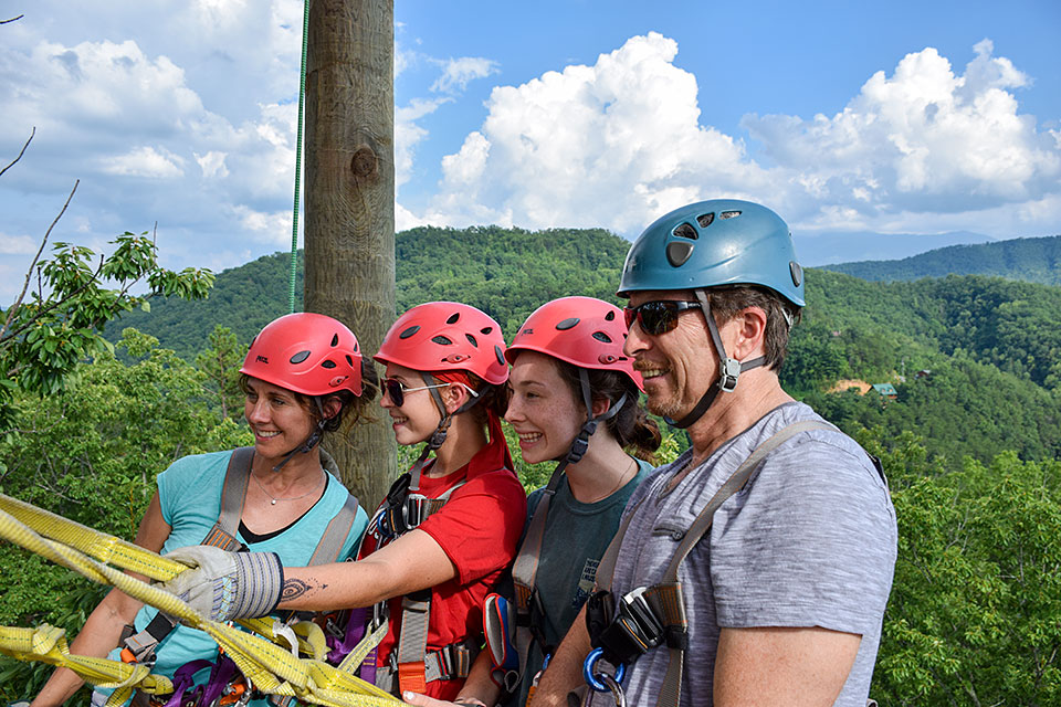 A Family Thing in the Smokies - Copyright 2019, Smoky Mountain Ziplines