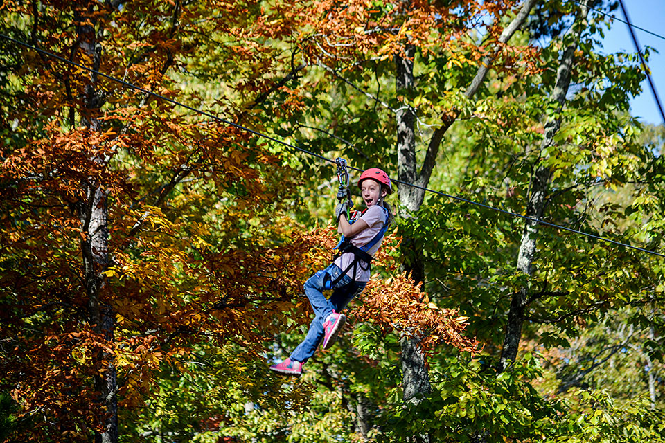 Tweens Love to Zip - Copyright 2019, Smoky Mountain Ziplines
