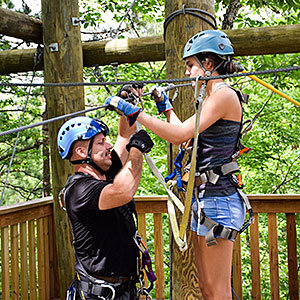 Best Zipline in the Smoky Mountains!